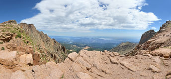 View from Piles Peak in Colorado Stock Photography
