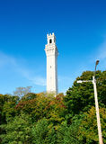 View at the Pilgrim Monument in Provincetown Stock Image
