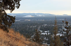 The View from Pilot Butte Royalty Free Stock Photography