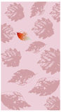 The view of Pink leaf Royalty Free Stock Photography