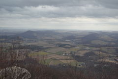 View from the Pinnacle on a cloudy day Royalty Free Stock Photos