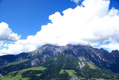 View of  the Pinzgau  Mountains Stock Image