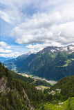 View of Piora Valley in Ticino Stock Photo