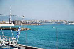 A view of Piraeus Stock Photography