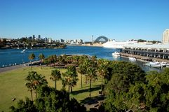 View from Pirrama Park on Sydney, Australia Stock Photos
