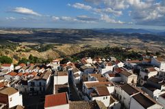 View of pisticci Stock Images