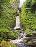 A View of Pistyll Rhaeadr Waterfall, Wales Royalty Free Stock Image