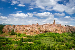 View of the Pitigliano Royalty Free Stock Photography