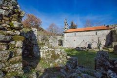 PORTUGAL - PITOES DAS JUNIAS MONASTERY, GERES - 5 DECEMBER royalty free stock image