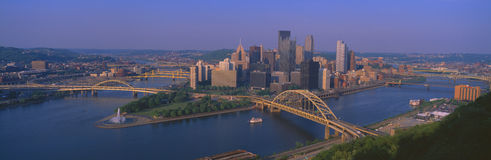 View of Pittsburgh Royalty Free Stock Photography