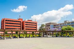 View at the Place of Concordia in Guatemala City - Guatemala stock photography