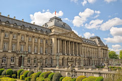 View from Place des Palais of Royal Palace in Brussels Stock Photo