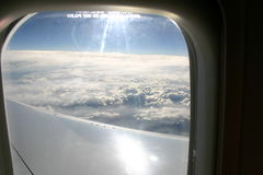 View from a Plane stock images