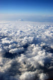 View from a plane. Window Royalty Free Stock Image