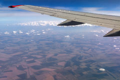 View plane window Royalty Free Stock Photography