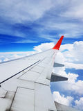 View from plane Royalty Free Stock Images