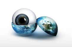 View of the planet Stock Images