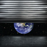 View of the planet earth Royalty Free Stock Image