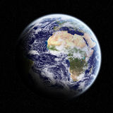 View of the planet Earth in space Stock Photo