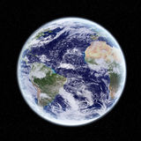 View of the planet Earth in space Royalty Free Stock Image