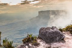The view from the plateau of Roraima on the Grand Sabana - Venezuela, Latin America Royalty Free Stock Photos
