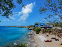 View from Playa Forti Stock Image