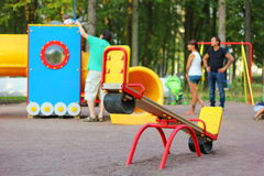 View of the playground Stock Photography