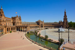 View of Plaza de Espa?a, Sevilla, Spain Stock Image