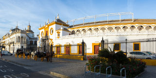 View of Plaza de Toros, Seville Stock Images