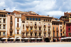 View of Plaza Mayor in Vic Royalty Free Stock Photo