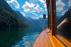 View from the Pleasure-boat Royalty Free Stock Image