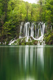 View in the Plitvice Lakes Stock Images