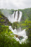 View in the Plitvice Lakes Royalty Free Stock Photography
