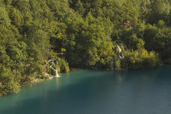 View at plitvice lakes Stock Image