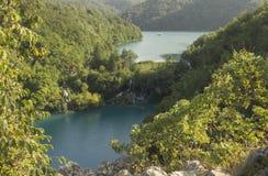 View at plitvice lakes Stock Photo