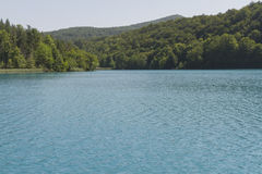 View at plitvice lakes Stock Images