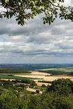 View on the Plough Land Stock Images