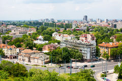 View of Plovdiv city, Bulgaria Stock Photos