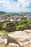 View of Plovdiv city, Bulgaria Royalty Free Stock Images