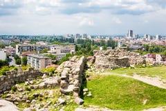 View of Plovdiv city, Bulgaria Royalty Free Stock Photo