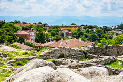View of Plovdiv city, Bulgaria Royalty Free Stock Image
