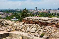 View of Plovdiv city, Bulgaria Stock Photography