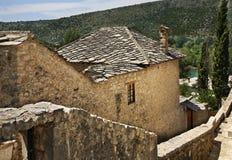 View of Pocitelj. Bosnia and Herzegovina Royalty Free Stock Photo