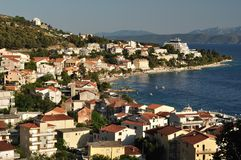View of Podgora. Croatia Stock Photography