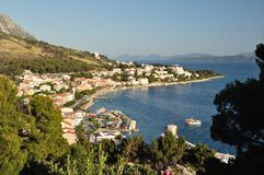 View of Podgora. Croatia Royalty Free Stock Photos
