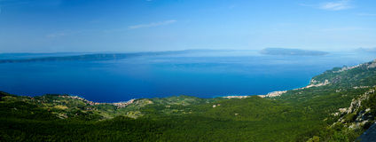 View on the Podgora Royalty Free Stock Images
