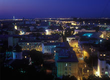 View on Podil. Stock Images