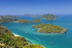 View point of Ang Thong Islands national park Stock Photography