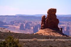 View Point at Arches National Park. Utah Stock Images