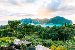 View Point bay Koh Phi Phi Don in andaman sea, Phi Phi Islands K Stock Photography